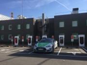 Foto 17 del punto Tesla Supercharger Lleida
