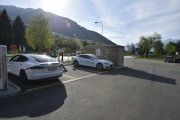 Foto 1 del punto Monte Ceneri Tesla Supercharger