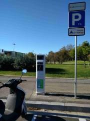 Foto 5 del punto Electrolinera AMB 06 (L) - carrer Salvador Espriu - l'Hospitalet de Llobregat