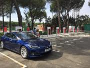 Foto 5 del punto Tesla Supercharger Tordesillas