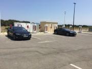 Foto 2 del punto Tesla Supercharger Orange
