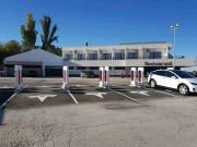 Foto 6 del punto Tesla Supercharger Manzanares