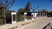 Foto 8 del punto Tesla Supercharger Alcantarilha