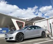 Foto 2 del punto Aosta Tesla Supercharger