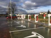 Foto 3 del punto Supercargador Tesla Rivabellosa