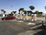 Foto 4 del punto Tesla Supercharger Manzanares
