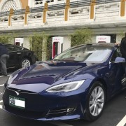 Foto 1 del punto Tesla Supercharger Taipei Expo Park