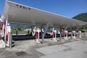 Foto 5 del punto Aosta Tesla Supercharger