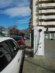 Foto 1 del punto Electrolinera 05 AMB - Montigalà - Badalona