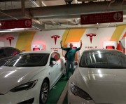 Foto 1 del punto Supercharger Shenzhen - KK Mall, China