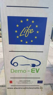 Foto 4 del punto DEMO-EV (Electric Vehicles Malta)