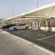 Foto 1 del punto Tesla Supercharger Mérida