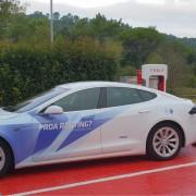 Foto 2 del punto Supercargador Tesla Girona