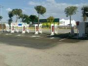 Foto 3 del punto Tesla Supercharger Manzanares