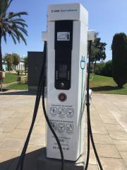 Foto 8 del punto Electrolinera AMB 01 - Mas Blau - El Prat de Llobregat