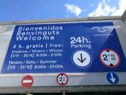 Foto 8 del punto Parking La Marina de València - Veles e Vents