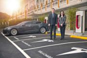 Foto 2 del punto Tesla Supercharger Taipei Expo Park
