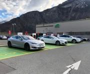 Foto 1 del punto Martigny Tesla Supercharger