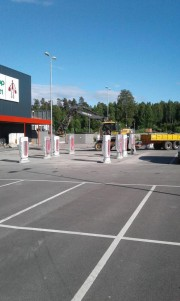 Foto 2 del punto Supercharger Tanum, Sweden