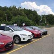Foto 4 del punto Pratteln Tesla Supercharger