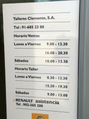 Foto 1 del punto Talleres Clemente (Móstoles Ciudad)