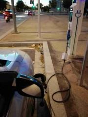 Foto 1 del punto Electrolinera AMB 06 (L) - carrer Salvador Espriu - l'Hospitalet de Llobregat